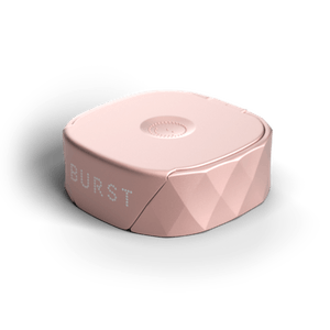 BURST Dental Refillable Floss Set - Mint Eucalyptus - Rose Gold
