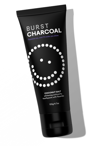 Charcoal Toothpaste - Coconut Salt
