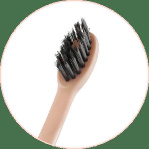 Burst Rosegold Brush Bristles