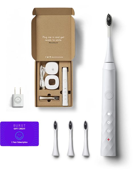 Burst Toothbrush Subscription Package